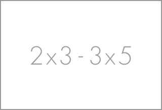 2x3 - 3x5 rugs